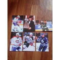 Открытки НХЛ