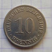 Германия 10 пфенниг 1913г. -А-
