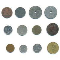 Монеты Бельгии старые и не очень 12 шт. #6