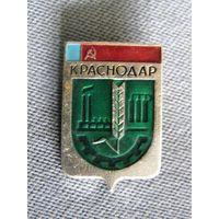 """Значок """"Краснодар"""" (гербы городов СССР)"""