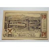 Германия. 10 пфеннигов 1921г.
