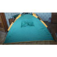 Комплект палатка, спальник, коврик.