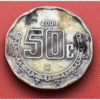 123-26 Мексика, 50 сентаво 2004 г.