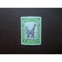 Португальский Мозамбик 1937 г.Жираф.