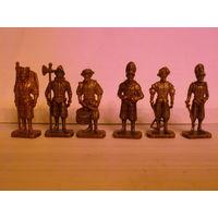Швейцарцы. Полный набор, фигурки, солдатики, киндеры.