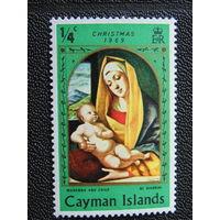 Британские Каймановы острова 1969 г. Рождество.