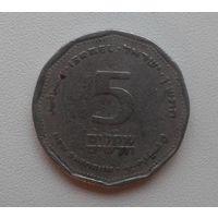 5 шекелей Израиль