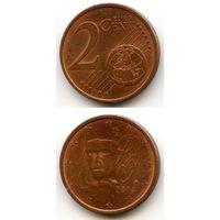 Франция 2 евроцента 2014 г.