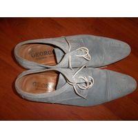 Туфли ручной работы George's 46 р-р