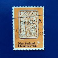 Марка Новая Зеландия 1976 год. Рождество