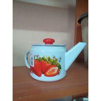 Чайник эмаль 1 л