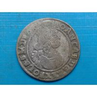 6 грош 1655 г.