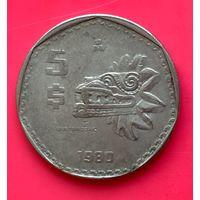 03-02 Мексика 5 песо 1980 г.