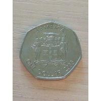 Ямайка 1 доллар 2006г.