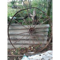 Старинное колесо кареты