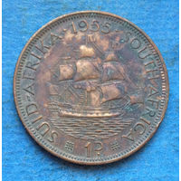 Южная Африка Британский доминион 1 пенни 1955