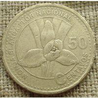 50 сентаво 2001 Гватемала