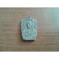 Нательная иконкаобразок медальон старинный