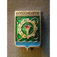 """Значок """"Новосибирск"""" (гербы городов СССР)"""