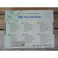 Факс модем Motorola CTR-21 56K PCI Internal Modem