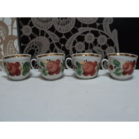 Чайная чашка,Барановка 1970-91гг,ручная роспись,лот 9