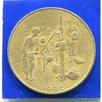 Западная Африка 10 франков 1996