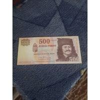 ВЕНГРИЯ 500 форинтов 2010 год