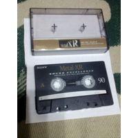 Аудиокассета Sony Metal XR 90(Metal)