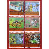 Коморы. Спорт. ( 6 марок ) 1980 года.
