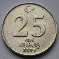 Турция, 25  куруш 2005 г
