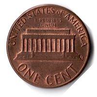США. 1 цент. 1983 г.