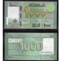 Ливан 1000 ливров примерно 2016г.  UNC   распродажа
