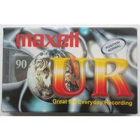 Аудиокассета Maxell ,новая/запечатанная .