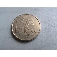 10 крон 1996 г Норвегия