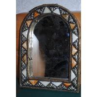 Зеркало настольное, - *в восточном стиле - рама в цв./эмалях, **можно повесить и на стену.