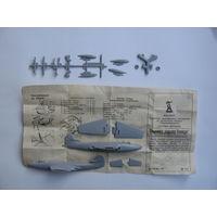 """Сборная модель самолёта Hawker """"Sea Hawk"""" (Novo\ДФИ) F328"""