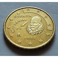 10 евроцентов, Испания 2007 г.