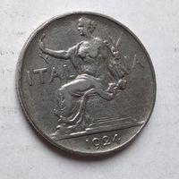 Италия 1 лира, 1924  2-8-23