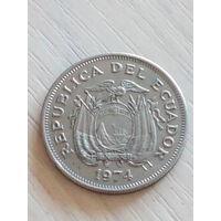 Эквадор 1 сукре 1974г.
