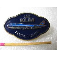 """Знак. Авиакомпания """"KLM"""". летающий юниор. тяжёлый"""