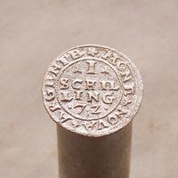 Шиллинг 1572 для наемников в замке Далхолм СОСТОЯНИЕ