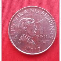 63-28 Филиппины, 1 песо 2012 г.