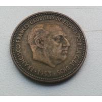 2,5 песет 1953 г. Испания