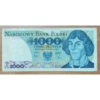 1000 злотых 1982 года - Польша