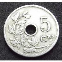 Бельгия. 5 сантимов 1906