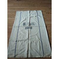 Старый полотняный мешок для хранения и перевозки хлеба Германия 1941 год