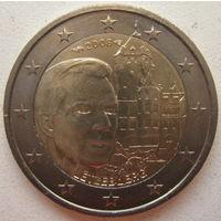 Люксембург 2 евро 2008 г. Замок Берг