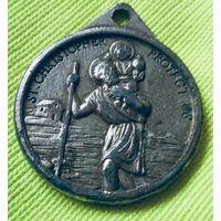 Медальон  Святого Христофора.