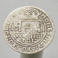 30 грошей (Тымф) 1663 Ян Казимир Ваза