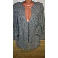 Пиджак драповый, р-р 48-50
